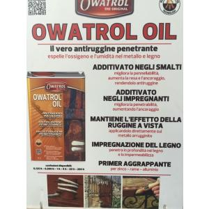 OWATROL OIL VENDITA ROMA NEW EDIL MAT