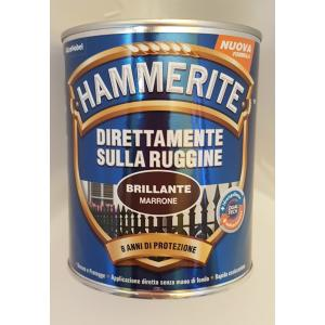 SMALTO ANTIRUGGINE HAMMERITE DIRETTAMENTE SULLA RUGGINE BRILLANTE MARRONE 750 ML VENDITA HAMMERITE SMALTO ANTIRUGGINE ROMA