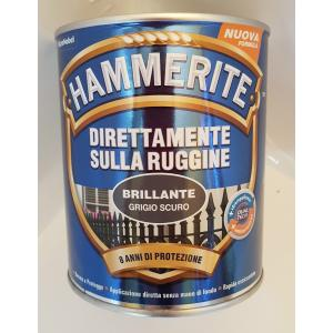 SMALTO ANTIRUGGINE HAMMERITE BRILLANTE GRIGIO SCURO 750 ML VENDITA HAMMERITE SMALTO ANTIRUGGINE ROMA